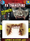 3D FX Transfers ''Zombie Missing Jaw''