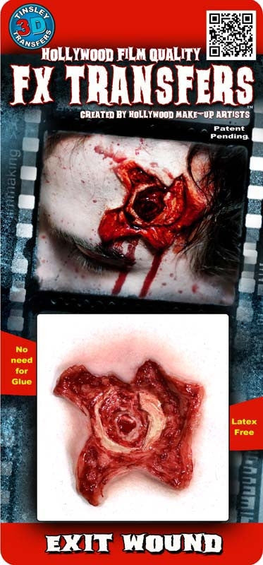"3D FX Transfers ""Exit Wound"""