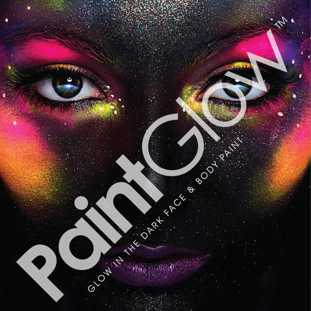 Glow in the Dark Face & Body Paint 13ml Pink