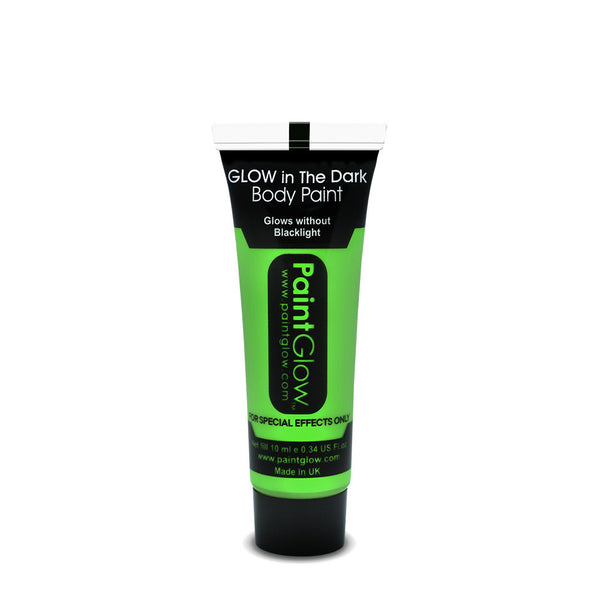Glow in the Dark Face & Body Paint 13ml Green