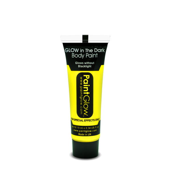 Glow in the Dark Face & Body Paint 13ml Yellow