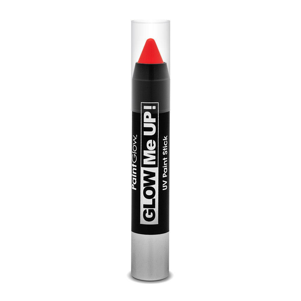 UV Neon Paint Stick Red