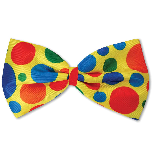 Jumbo Clown Foam Bow Tie
