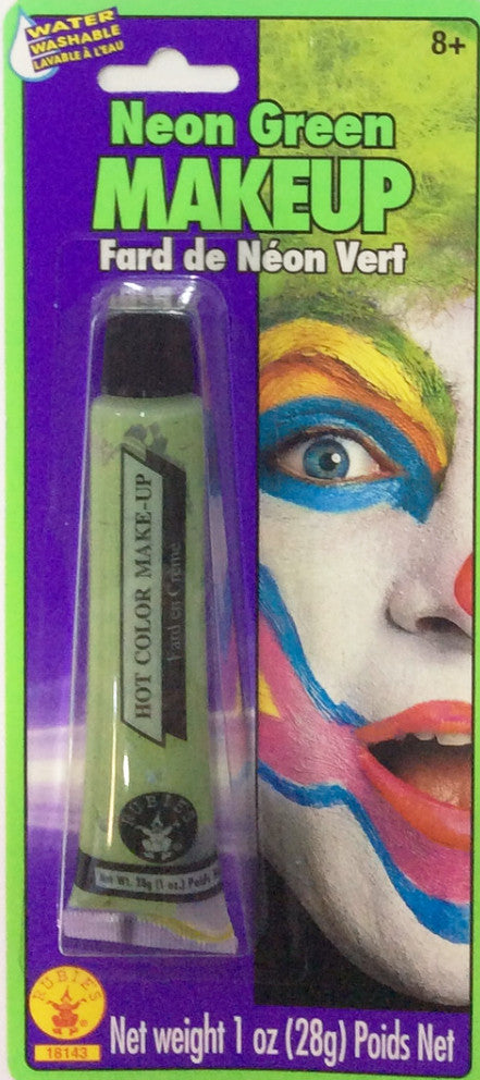 Neon Green Makeup Tube