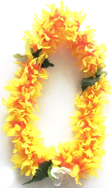 36'' Flower Lei with Large Flower