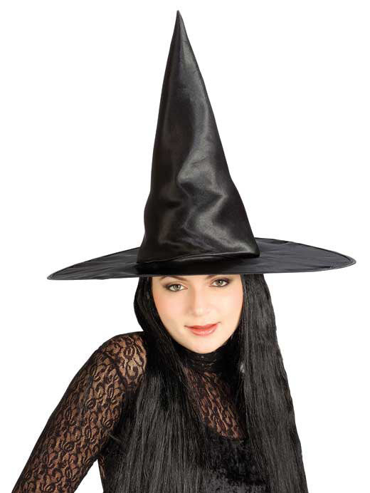 Satin Witch Hat
