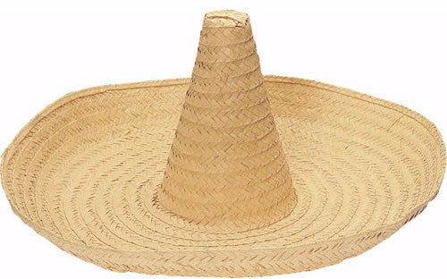 Large Straw Zapata Hat