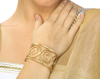 Grecian Arm Cuff Gold
