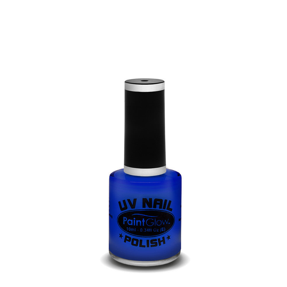 UV Neon Nail Polish Blue