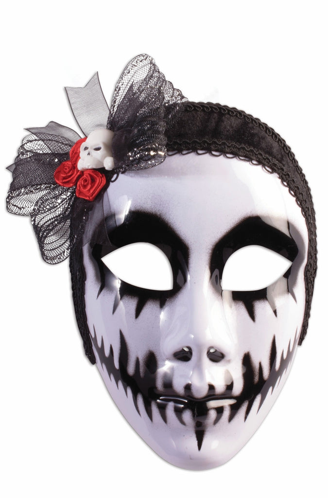 Mask Day of the Dead Phantom Bride
