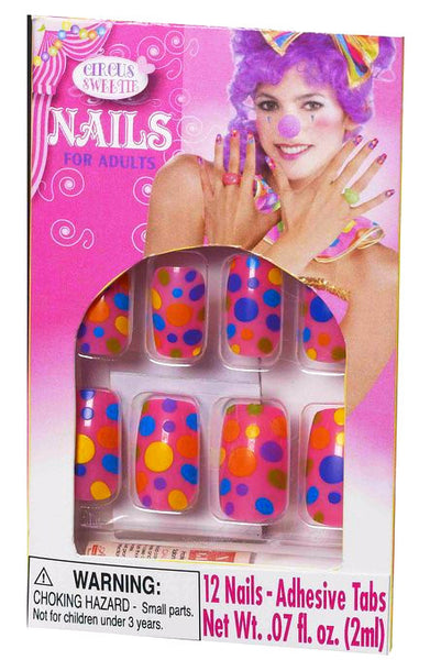 Circus Sweetie Nails