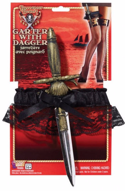 Buccaneer Beauty Garter with Dagger