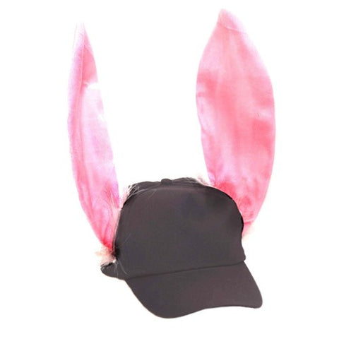 Baseball Cap with Bunny Ears