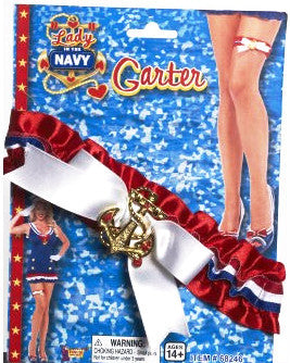 Lady in the Navy Garter