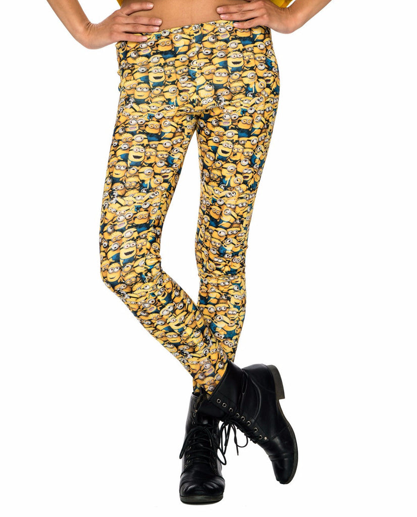 Minion Yellow Leggings