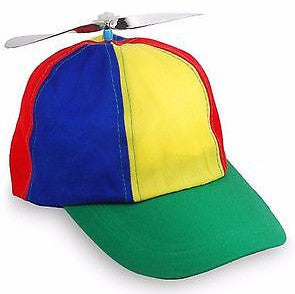 Multi Color Propeller Cap