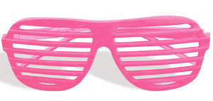 Slot Glasses Neon Pink