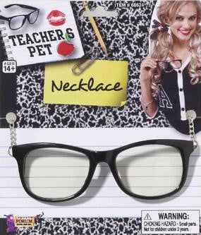 Teacher's Pet Glasses with Chain