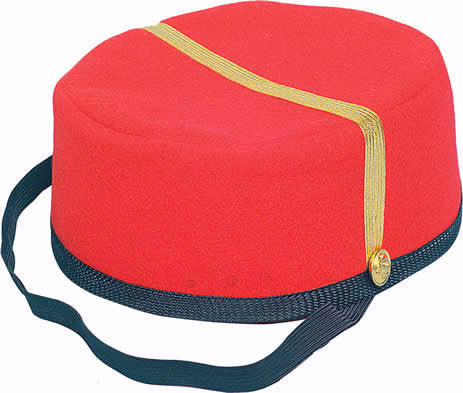 Bell Boy Cap Red