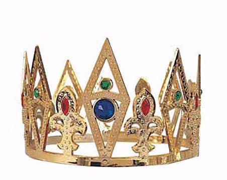 Metallic Plated King's Crown Gold