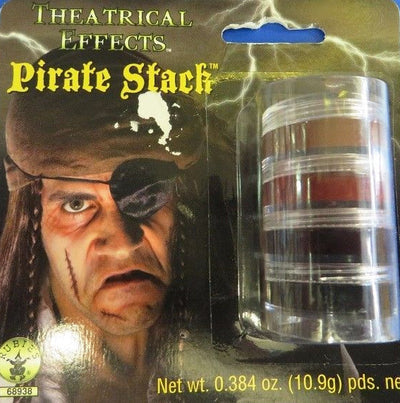 Pirate Makeup Stack