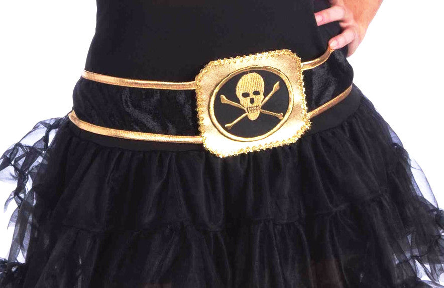 Buccaneer Beauty Skull Belt