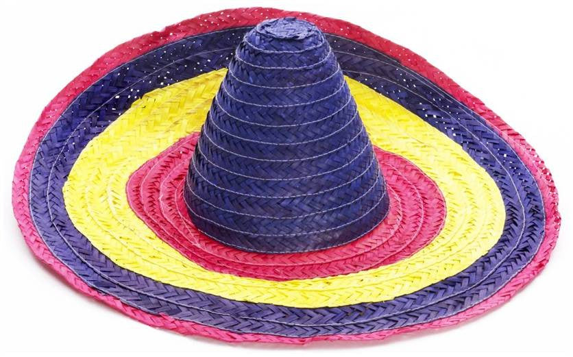 Tri-Color Sombrero Hat
