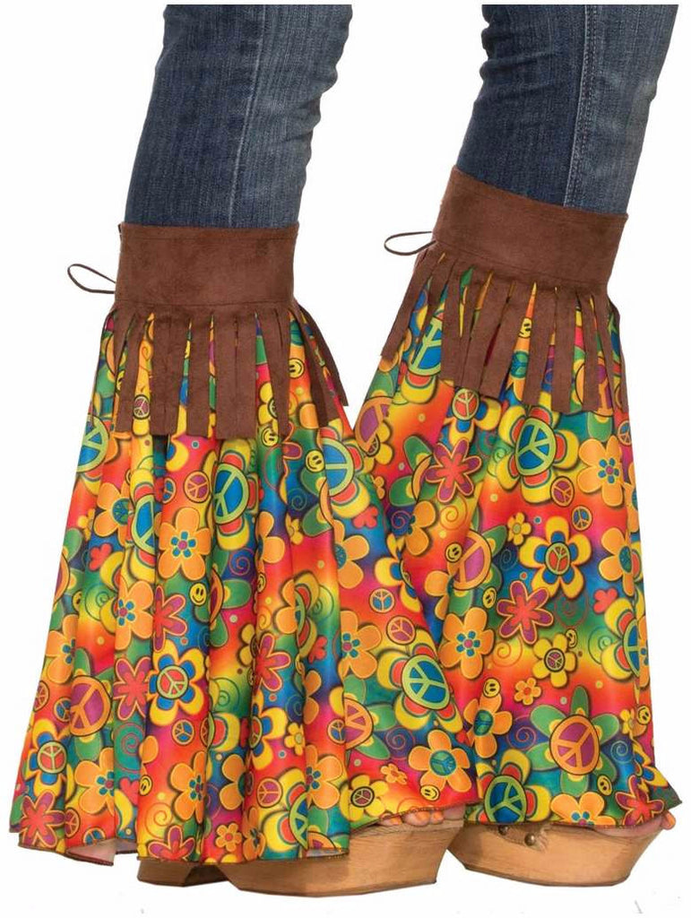 Hippie Add A Bell Bottom Leg Covers