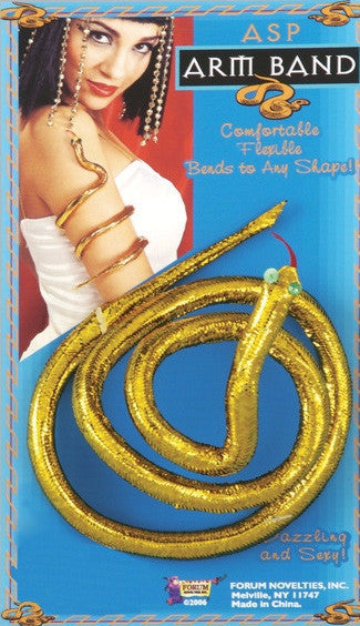 Snake Arm Band  Gold