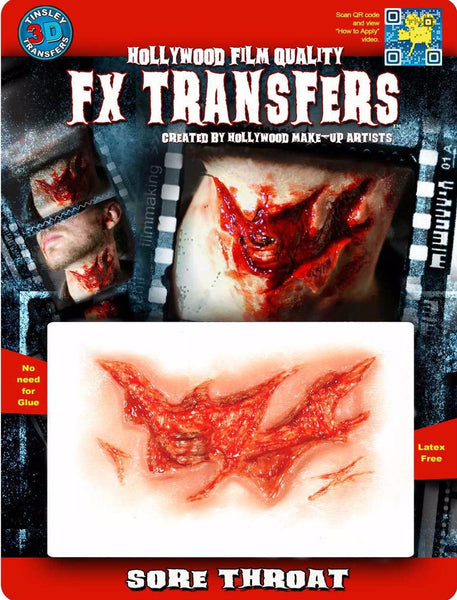 3D FX Transfers ''Sore Throat''