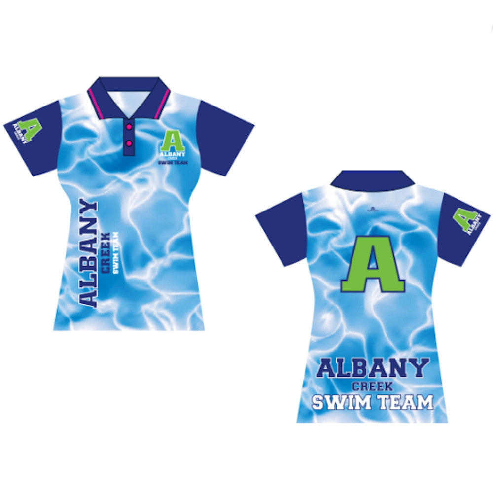 Albany Creek Official Sublimated Club Polo - Ladies