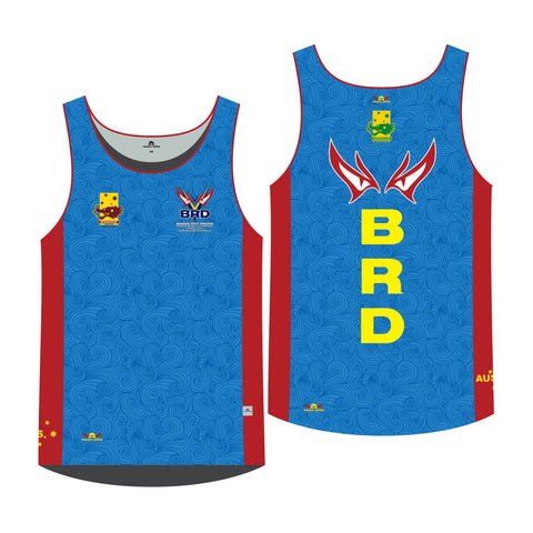 Brisbane River Dragons - Official Dragon Boat Racing Unisex Sublimated Race Singlet