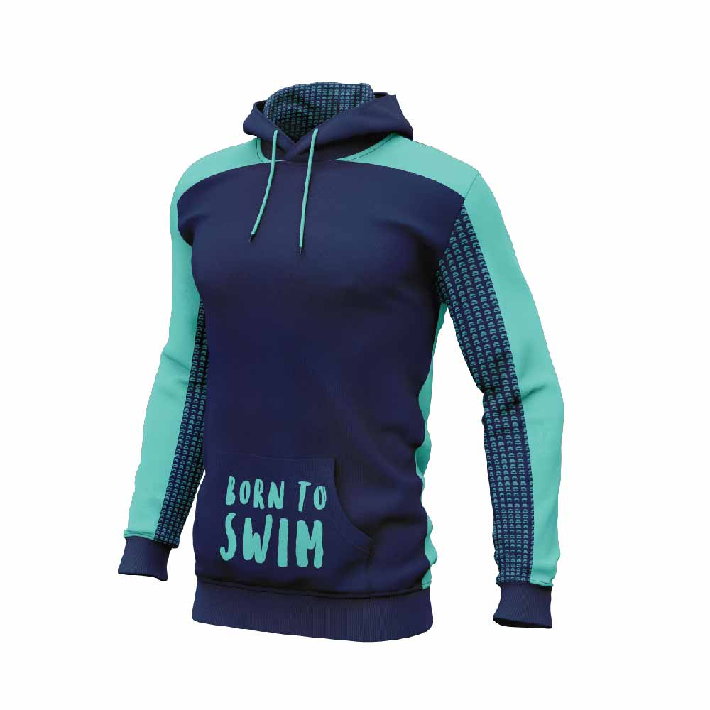 Born to Swim Sublimated Hoodie