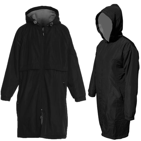 Heavy Weight Team Elite Deck Parka - Black/Grey