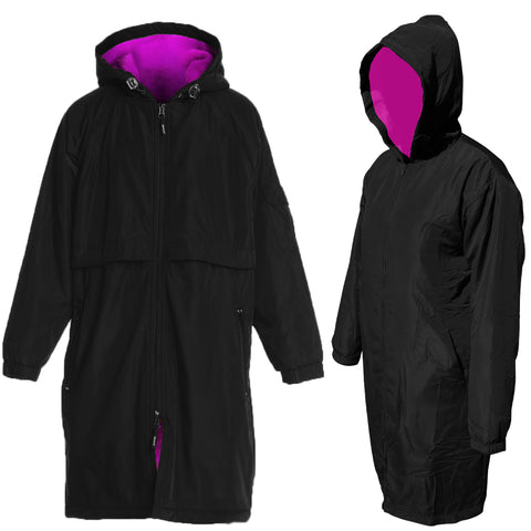 Team Elite Deck Parka - Black/Pink