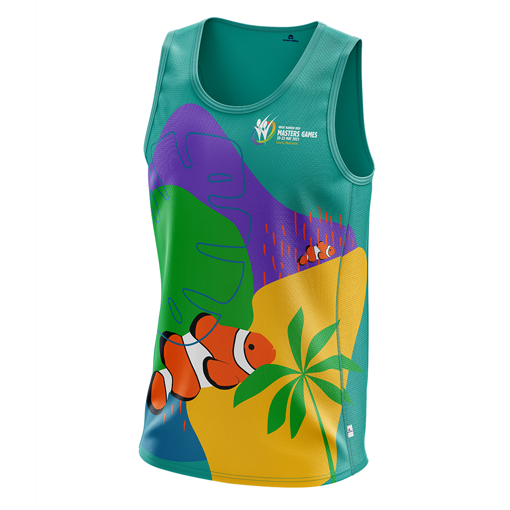 2021 GBRMG Cool Dry Unisex Singlet - Green