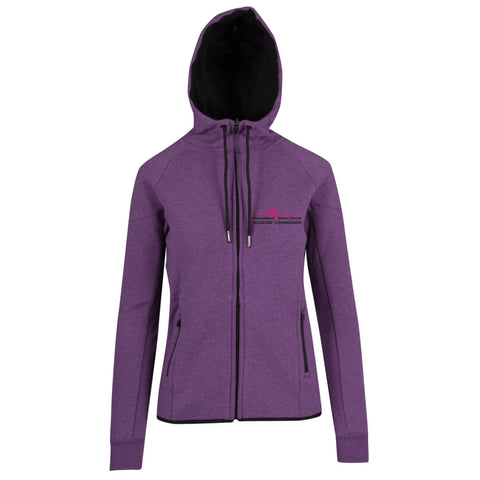 IBCPC Cotton-Face Hooded Jacket - Ladies
