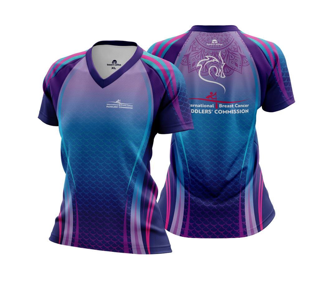 IBCPC Sublimated Cool-Dry Tee Ladies/Unisex - Purple