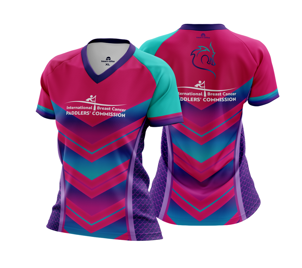 IBCPC Sublimated Cool-Dry Tee Ladies/Unisex - Pink