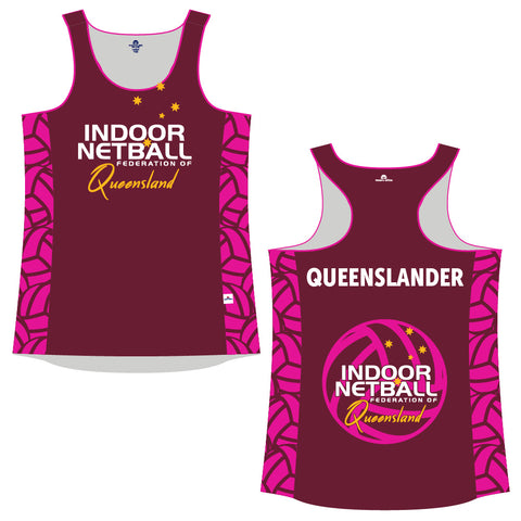 INFQ Supporter Cool-Dry Singlet - Ladies