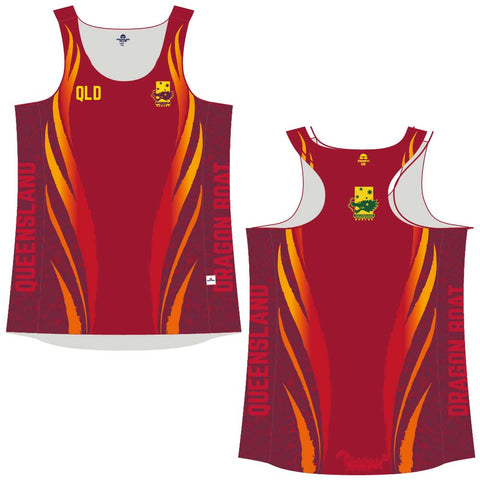Official DBQ State Representative Racer-back Singlet - Ladies