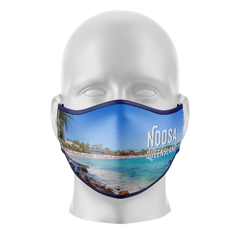 Noosa Qld Reusable Face Mask - Adults