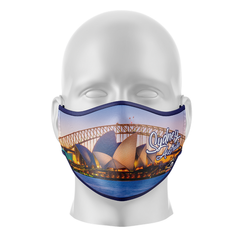 Sydney Reusable Face Mask - Kids/Adults