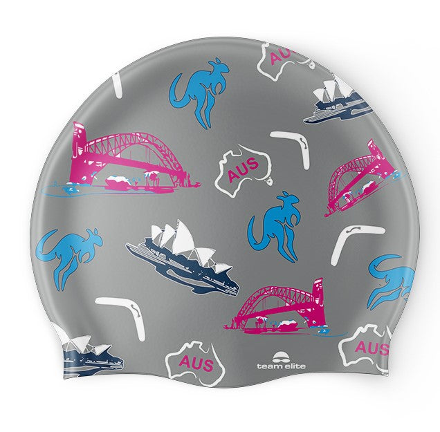Aussie Icon Swim Cap