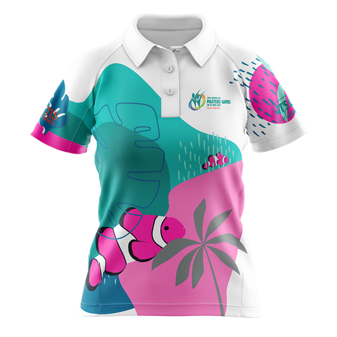 2021 GBRMG Cool Dry Polo - Ladies