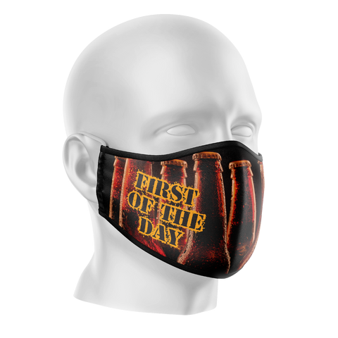Beers Reusable Face Mask - Adults