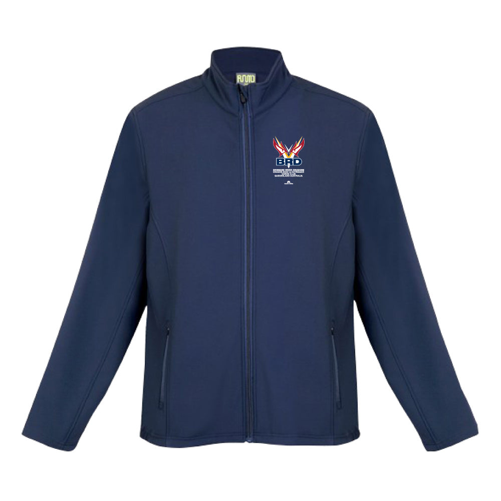 Brisbane River Dragons - Navy Softshell Jacket