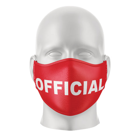 Reusable Face Mask - Official Red