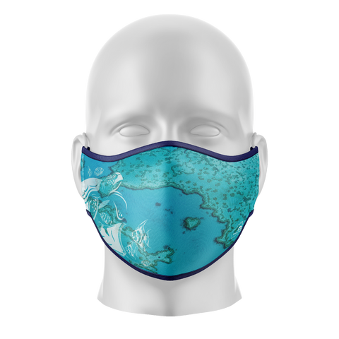 Reef Reusable Face Mask - Adults