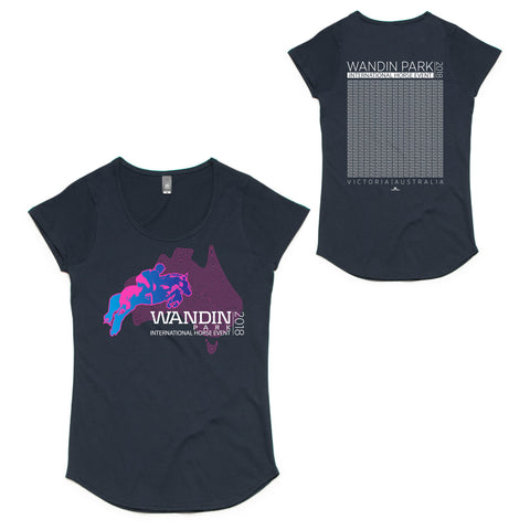 Wandin International Horse Event Ladies 'Names' T-Shirt